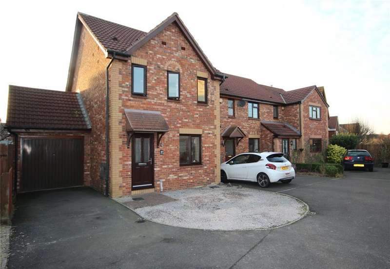 3 Bedrooms End Of Terrace House for sale in Juniper Way, Bradley Stoke, Bristol, BS32
