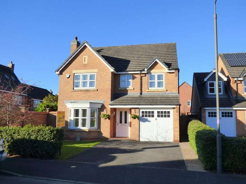 4 Bedrooms Detached House for sale in Thorpe View, Ashbourne
