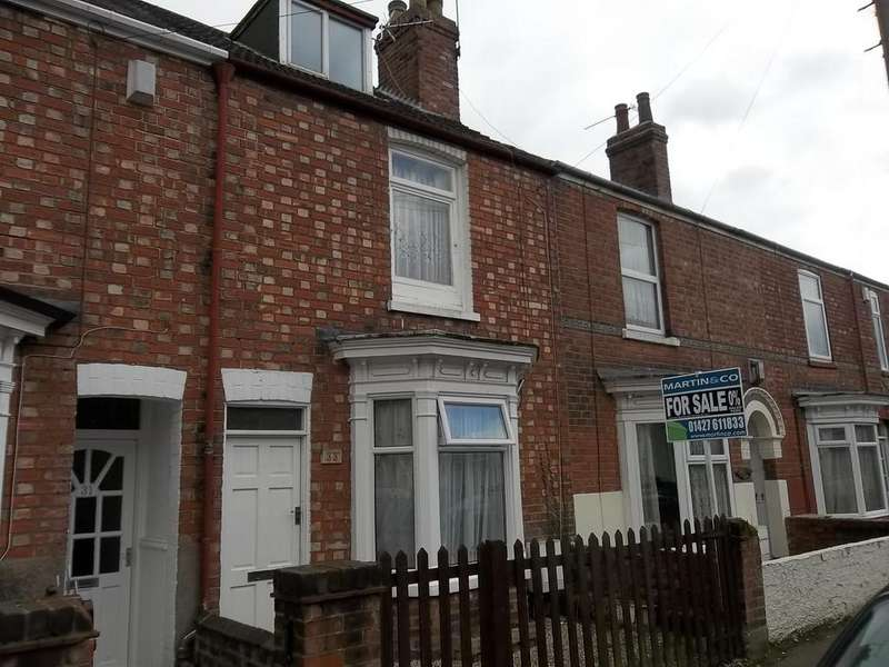 3 Bedrooms Terraced House for sale in Cromwell Street, Gainsborough