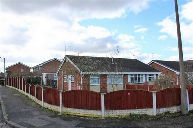 2 Bedrooms Semi Detached Bungalow for sale in Walbank Road, Armthorpe, Doncaster, South Yorkshire