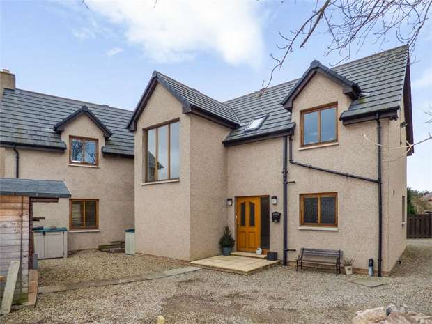4 Bedrooms Detached House for sale in Gunsgreen Park, Eyemouth, Scottish Borders
