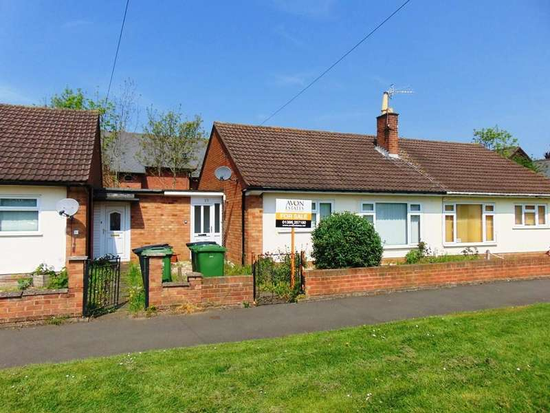 2 Bedrooms Semi Detached Bungalow for sale in Masters Close, Evesham