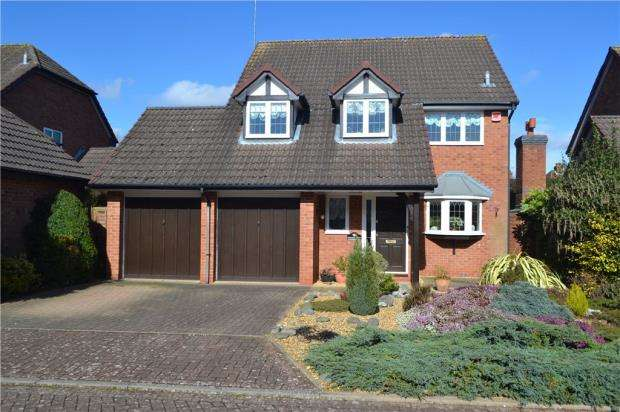 4 Bedrooms Detached House for sale in Spilsbury Close, Leamington Spa, Warwickshire