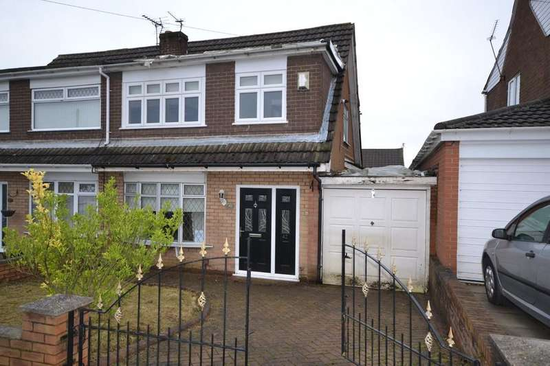 3 Bedrooms Semi Detached House for sale in Coalville Road, Laffak, St. Helens