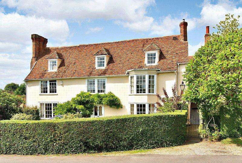 4 Bedrooms Semi Detached House for sale in The Green, Long Melford, Sudbury, Suffolk, CO10