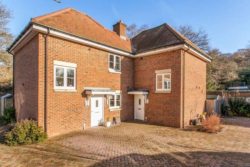 2 Bedrooms Semi Detached House for sale in Ashwood Court, Winchester, SO22