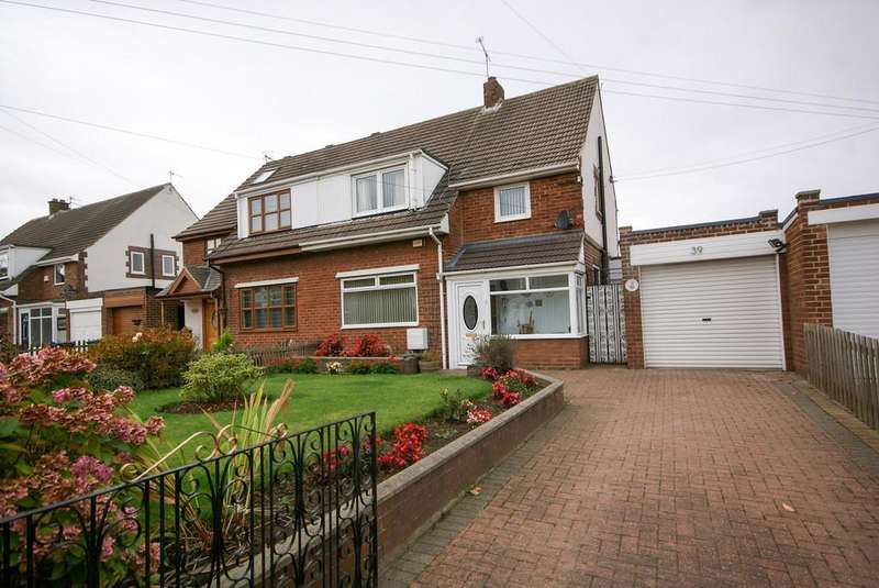 3 Bedrooms Semi Detached House for sale in Bridle Path, East Boldon