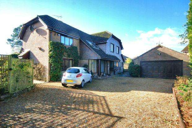 4 Bedrooms Detached House for sale in Fordingbridge