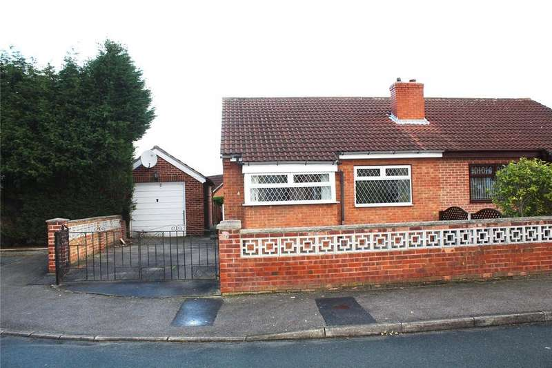 2 Bedrooms Semi Detached Bungalow for sale in Heather Close, South Kirkby, Pontefract, WF9