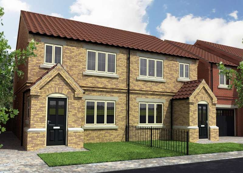 3 Bedrooms Semi Detached House for sale in Plot 8, Sandhills Mews