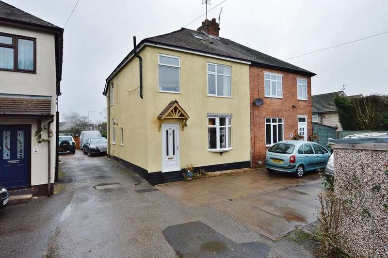 4 Bedrooms Semi Detached House for sale in Church Street, Rugeley
