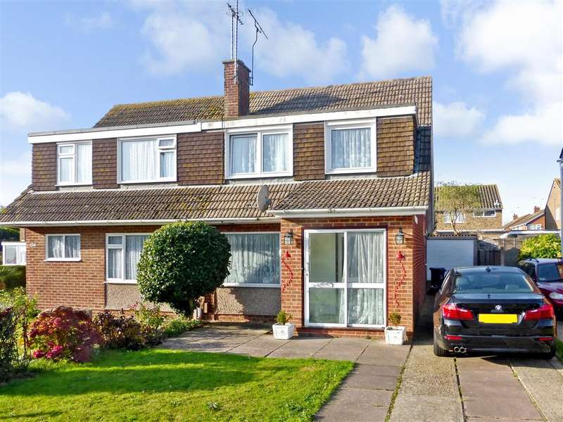 3 Bedrooms Semi Detached House for sale in Boxgrove, Goring-By-Sea, Worthing, West Sussex