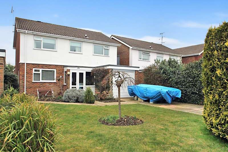 4 Bedrooms Detached House for sale in Cissbury Road, Worthing BN14 9LD
