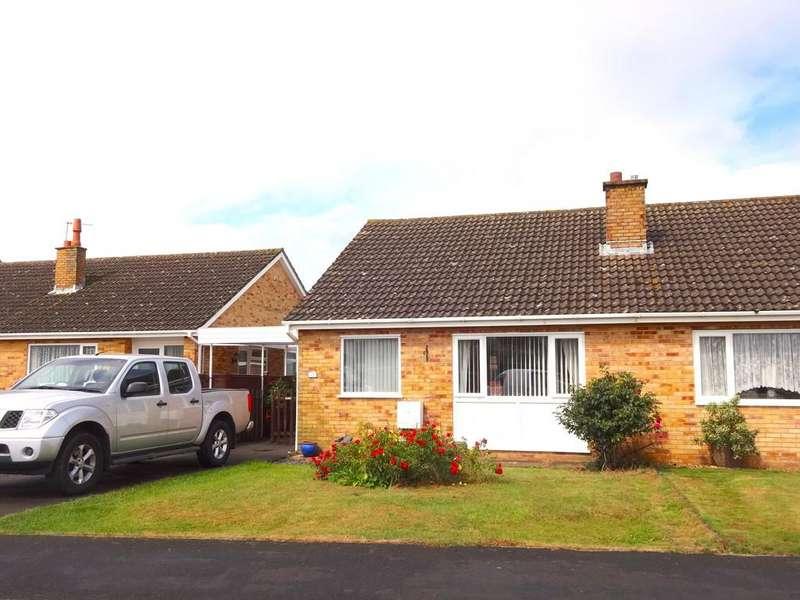 2 Bedrooms Semi Detached Bungalow for sale in Poplar Road
