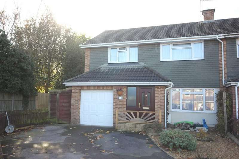 4 Bedrooms End Of Terrace House for sale in CHICHESTER CLOSE, HARNHAM, SALISBURY, WILTSHIRE SP2 8AQ