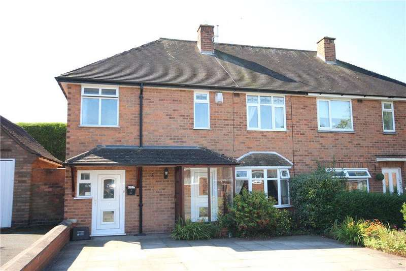 4 Bedrooms Semi Detached House for sale in Fernhill Road, Solihull, West Midlands, B92