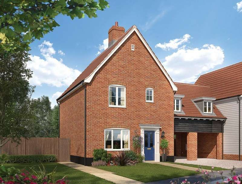 3 Bedrooms Link Detached House for sale in Saxmundham, Suffolk