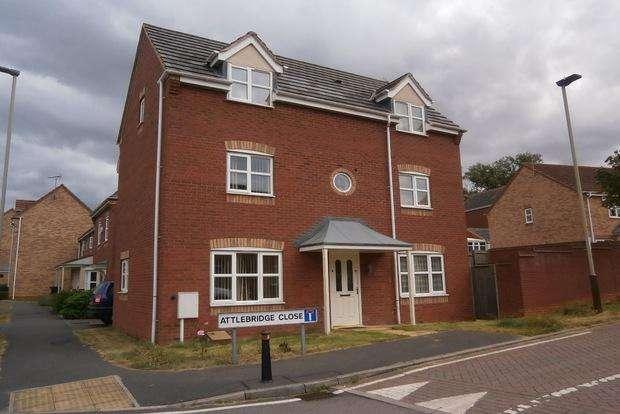 4 Bedrooms Detached House for sale in Attlebridge Close, Hamilton, Leicester, LE5