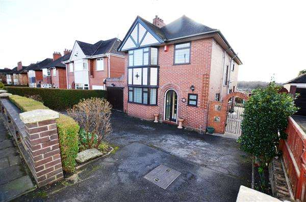 4 Bedrooms Detached House for sale in Lancaster Road, Newcastle, Newcastle