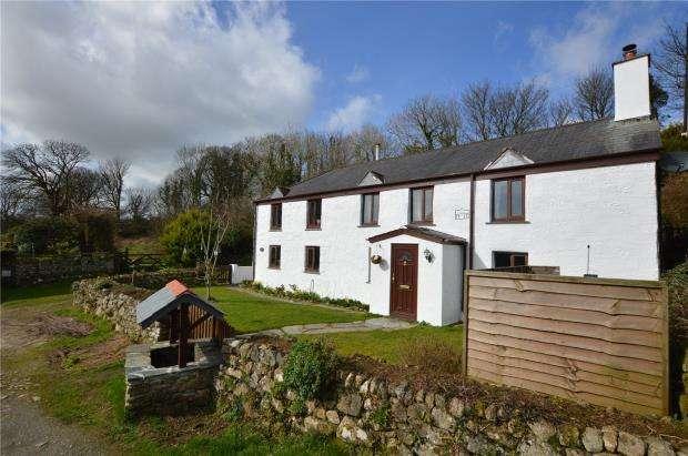 4 Bedrooms Detached House for sale in St Cleer, Liskeard, Cornwall