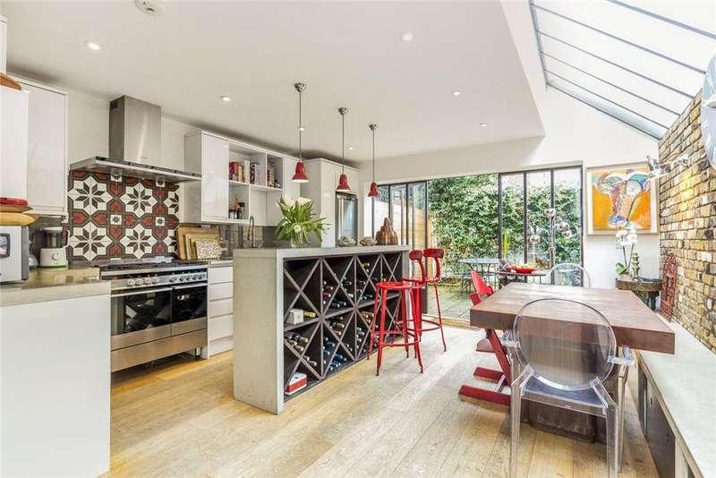 5 Bedrooms Terraced House for sale in Gastein Road, London, W6