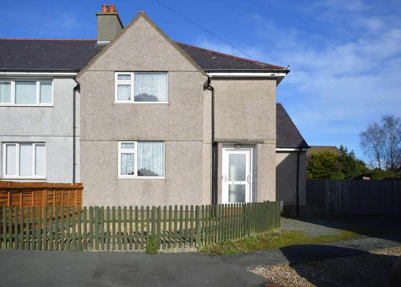 4 Bedrooms Semi Detached House for sale in Trem Eryri, Menai Bridge, North Wales
