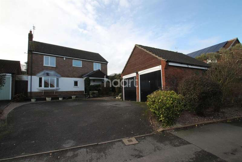 4 Bedrooms Detached House for sale in Elm Tree Avenue, Glenfield, Leicester, LE3 8QA