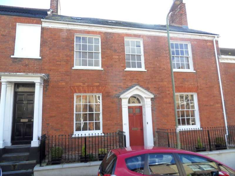 4 Bedrooms Terraced House for sale in Bicton Street, Exmouth
