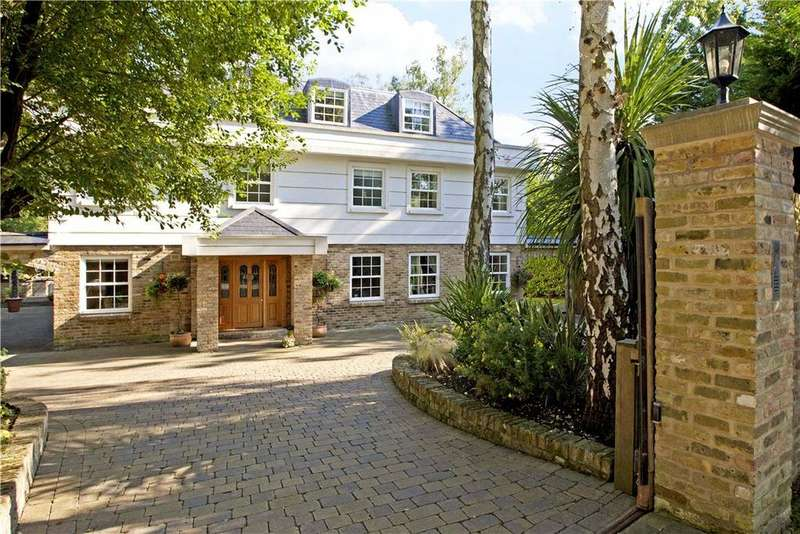 7 Bedrooms Detached House for sale in Abbots Drive, Virginia Water, Wentworth, Surrey, GU25