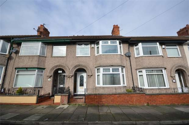 3 Bedrooms Terraced House for sale in Beverley Road, New Ferry