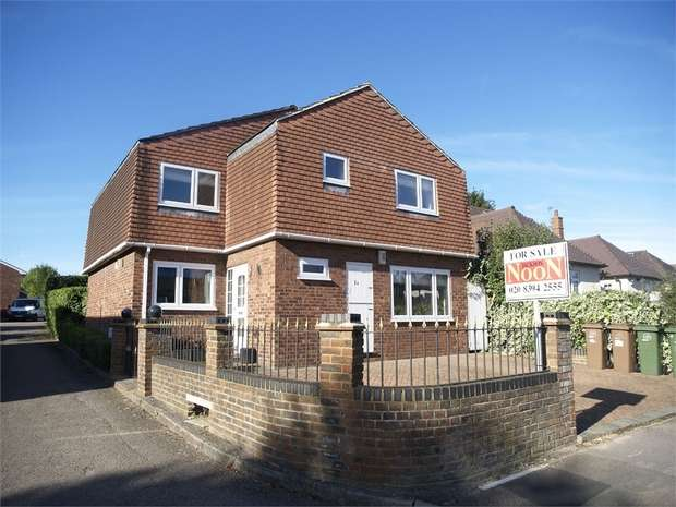 4 Bedrooms Detached House for sale in Kingsmead Avenue, Worcester Park