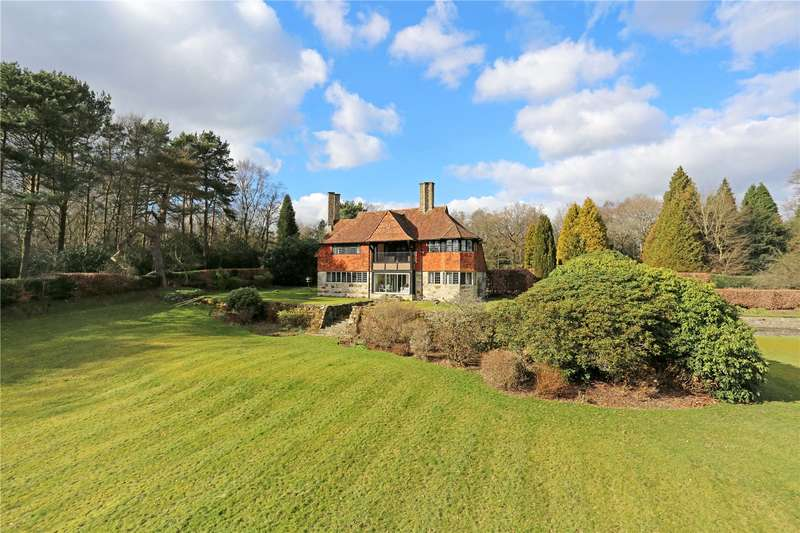 5 Bedrooms Detached House for sale in Sheep Plain, Crowborough, East Sussex, TN6