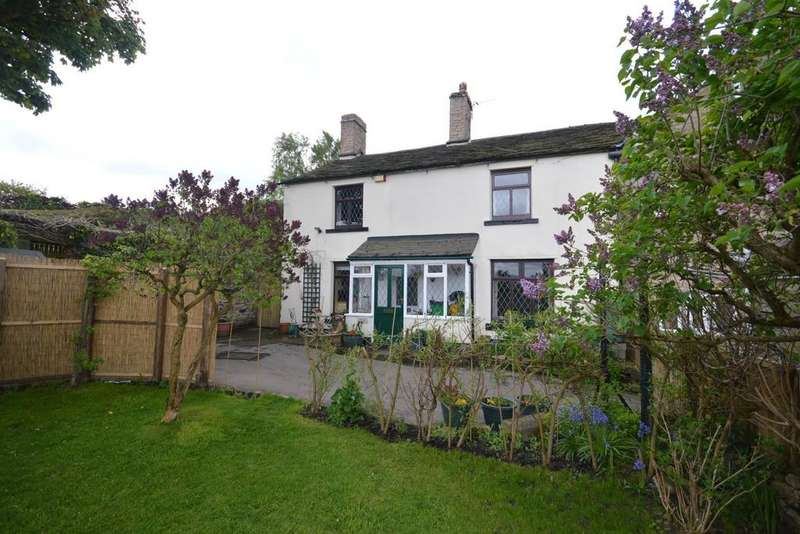 3 Bedrooms Semi Detached House for sale in Back Lane, Charlesworth, Glossop