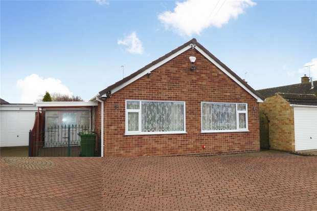 2 Bedrooms Detached Bungalow for sale in Windermere Avenue, St Nicolas Park, Nuneaton, Warwickshire