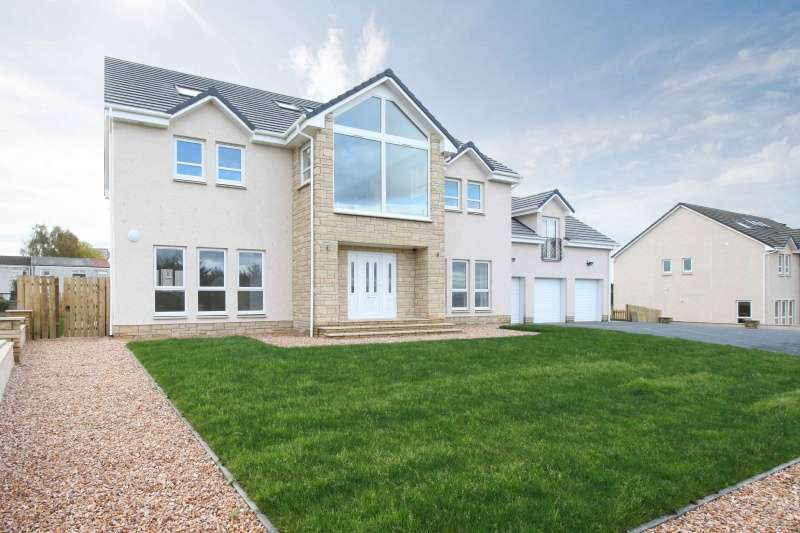 6 Bedrooms Detached House for sale in Livingstone Rise, Glenbrae, Falkirk, Stirlingshire, FK1 2AE