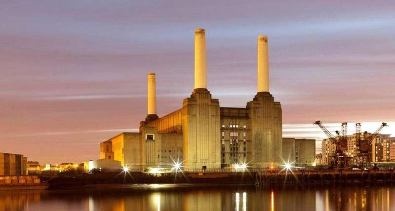 2 Bedrooms Flat for sale in Switch House, Battersea Power Station, 188 Kirtling Street, London
