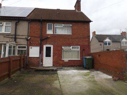 3 Bedrooms End Of Terrace House for sale in Third Avenue, Forest Town, Mansfield, Nottinghamshire