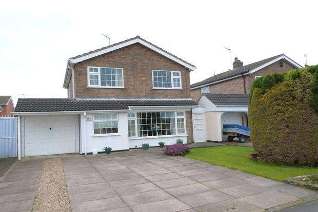 3 Bedrooms Detached House for sale in Broome Lane, East Goscote, Leicester, LE7