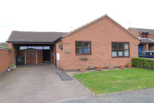 2 Bedrooms Detached Bungalow for sale in Bluebell Close, Queniborough, LE7