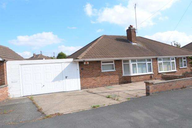 2 Bedrooms Bungalow for sale in Spencer Avenue, Thurmaston, Leicester, LE4