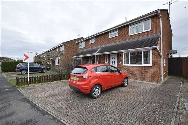 3 Bedrooms Semi Detached House for sale in Newtown, Tewkesbury, Gloucestershire, GL20 8ES
