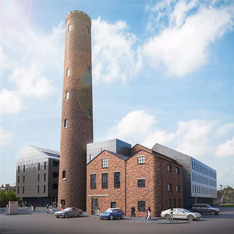 2 Bedrooms Flat for sale in The Shot Tower, Chester, CH1