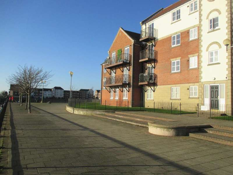 2 Bedrooms Apartment Flat for sale in Lancelot Court, Victoria Dock, Hull, HU9 1QD