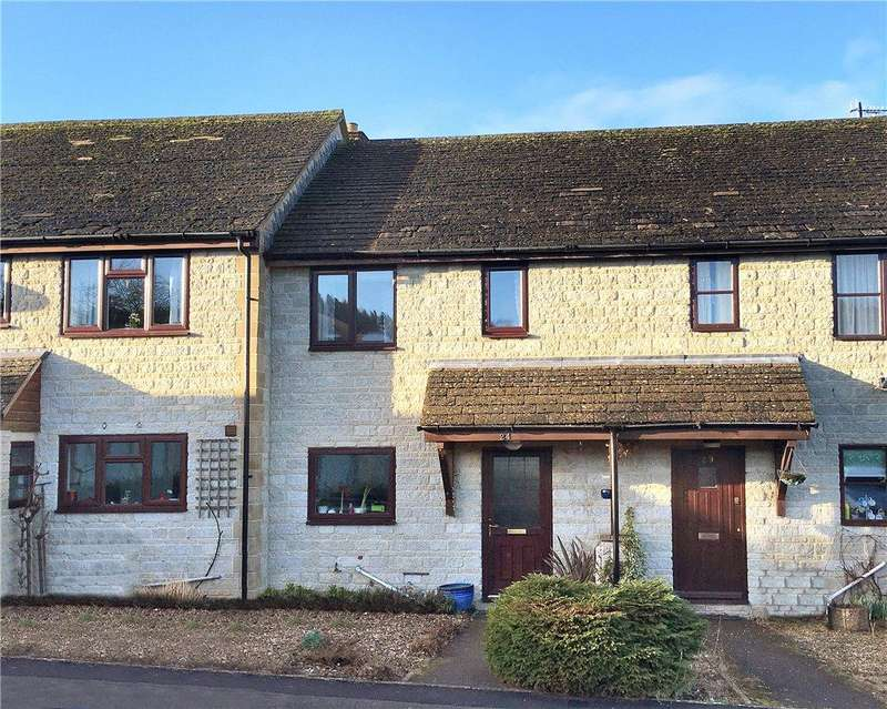 2 Bedrooms Terraced House for sale in Brassington Gardens, Withington, Gloucestershire, GL54