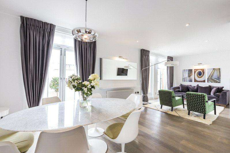 3 Bedrooms Flat for sale in Hamlet Gardens, London, W6