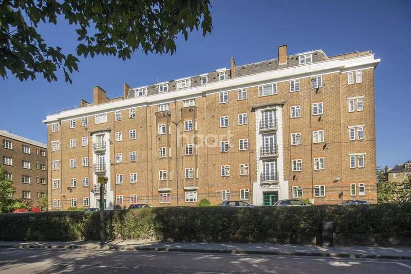 2 Bedrooms Flat for sale in Warwick Lodge, NW2