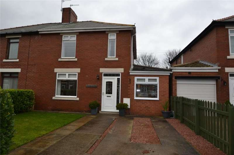 3 Bedrooms Semi Detached House for sale in Thorpe Road, Easington Village, Peterlee, Co.Durham, SR8