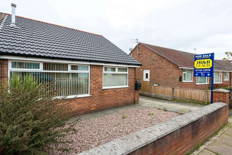 2 Bedrooms Semi Detached Bungalow for sale in Paisley Avenue, Laffak, St. Helens