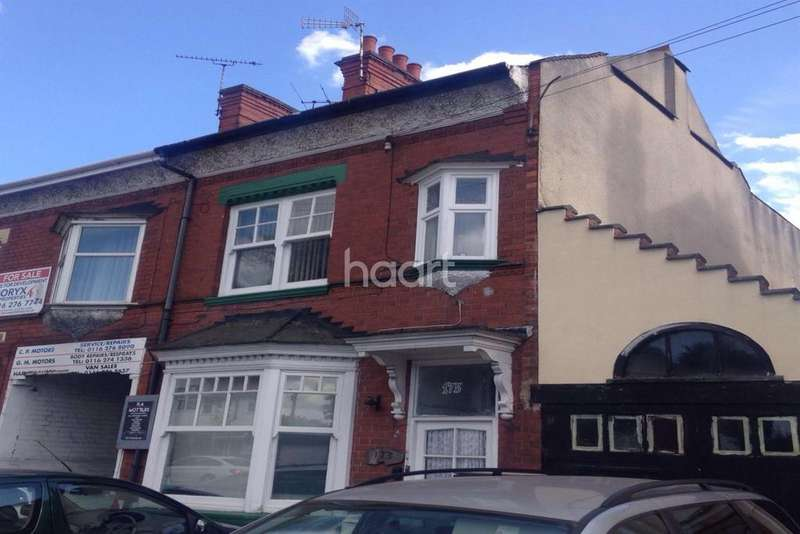 4 Bedrooms End Of Terrace House for sale in Uppingham Road, Leicester