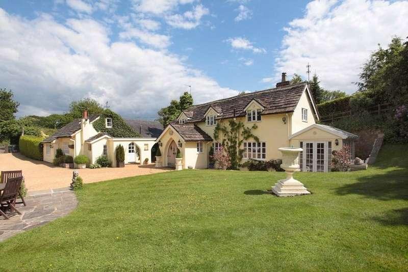 3 Bedrooms Detached House for sale in Fanshawe Lane, Henbury Moss